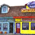Depoe Bay Oregon - Chowder Bowl by Image Takers Photography LLC - Carol Haddon