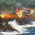 Depoe Bay Oregon by Methune Hively