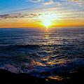Depoe Bay Sunset by Kevin Mcenerney