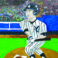Derek Jeter by Jeff Caturano