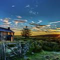 Derelict Cottage Nun's Cross, Dartmoor, Uk. by Maggie McCall
