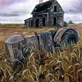Derelict Farm by Derek Rutt