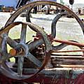Derelict Conveyor Belt And Drive Wheel by Kae Cheatham