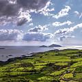 Derrynane National Park Along Ring Of Kerry, Ireland by Bob Cuthbert