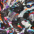 Dervish And The Rainbow  by Expressionistart studio Priscilla Batzell