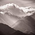 Descending Rays by Gina Herbert