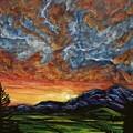 Descent On Mount Diablo by Joel Tesch