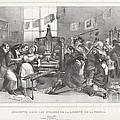 Descente Dans Les Ateliers De La Libert? De La Presse by Jean-ignace-isidore Grandville, And Auguste Desperet