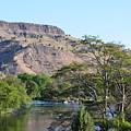 Deschutes River At Trout Creek by Linda Larson