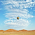 Desert Balloon by Charel Schreuder