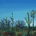 Desert Blue by Frances Marino