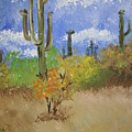 Desert Cactus by Melissa Wiater Chaney