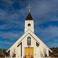 Desert Church by Brigitte Mueller