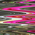 Desert Flowers Abstract by Tom Janca