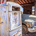 Desert Gas Station by Edward Fielding