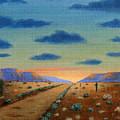 Desert Highway by Gordon Beck