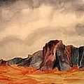 Desert Mountains by Fred Jinkins