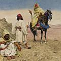 Desert Nomads by Giulio Rosati
