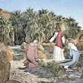 Desert Jesus by Robert Barlow