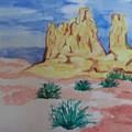 Desert Sky by Erika Chamberlin