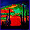 Desert Sky by MarvL Roussan