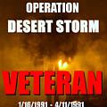 Desert Storm Vet Phone Case Work by David Lee Thompson