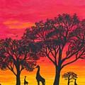 Desert Sunset 2 by Barbara Griffin