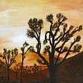 Desert Sunset II by Merle Blair