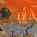 Desert Sunset by Jason Girard