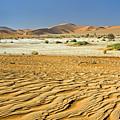 Desert Texture In Namib-naukluft by Aivar Mikko