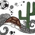 The Desert Tortoise by Cathy Nestroyl