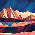 Desert Valley by Spacefrog Designs