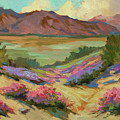 Desert Verbena At Borrego Springs by Diane McClary