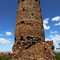 Desert View Watchtower At Grand Canyon by Christiane Schulze Art And Photography