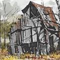 Deserted Barn by Jim Hamm