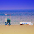Deserted Beach by Bill Cannon