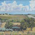Deserted Farm House by Gloria Smith