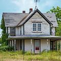 Deserted Oklahoma Farmhouse by Bob Phillips