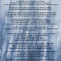 Desiderata - Blue by Steve Harrington