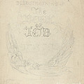 Design For A Title-page by William Blake