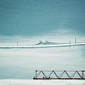 Designs And Lines - Winter In Switzerland by Susanne Van Hulst