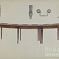 Desk (in Two Sections) Used By Members Of Congress by Rollington Campbell