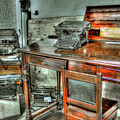 Desk Or Typewriter by Francisco Colon