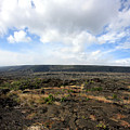 Desolate Lava Field by Mary Haber