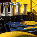 Desoto Firedome Eight Engine by Jill Reger