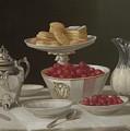 Dessert Still Life, 1855 by John F Francis