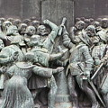 Detail From The Reformation Monument In Copenhagen by Vineta Marinovic