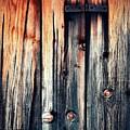 Detail Of An Old Wooden Door by Jozef Jankola