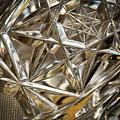 Detail Of Cut Glass by Jozef Jankola