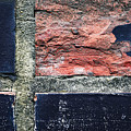 Detail Of Damaged Wall Tiles by Jozef Jankola